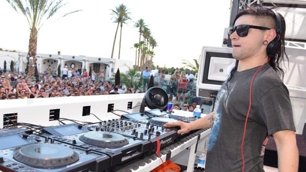Skrillex In Concert - Las Vegas, NV